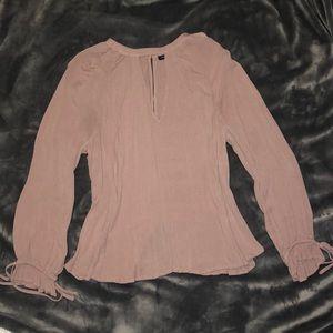 American Eagle Pink Shirt